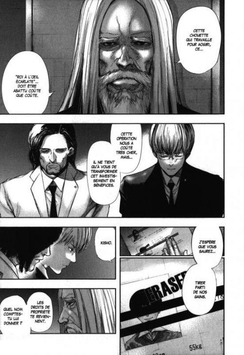 Tokyo ghoul T14, manga chez Glénat de Ishida