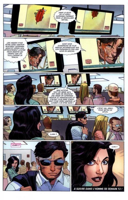 Superman - L'homme de demain T1 : Ulysse (0), comics chez Urban Comics de Romita Jr, Johns, Janson, Hi-fi colour, White, Quintana, Martin, Arreola, Brown
