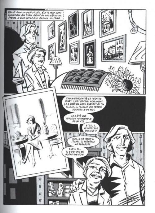 Alcoolique, comics chez Monsieur Toussaint Louverture de Ames, Haspiel
