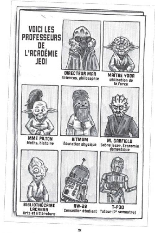 Star Wars - L'académie Jedi T1 : Une nouvelle école (0), comics chez Huginn & Muninn de Brown
