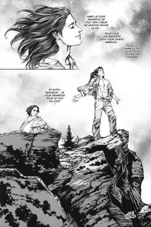 Le don du loup , manga chez Pika de Rice, Witter