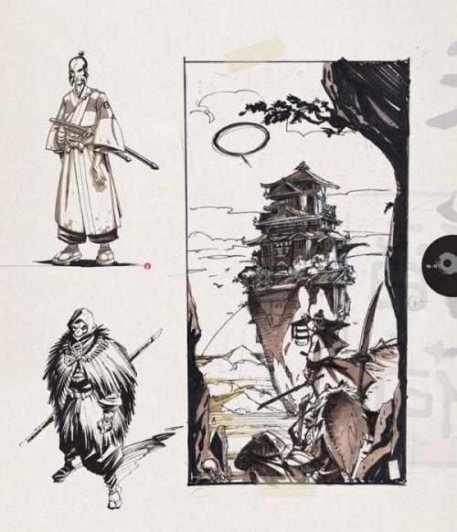 Okko : Artbook, 10 ans de dessins (0), bd chez Delcourt de Hub