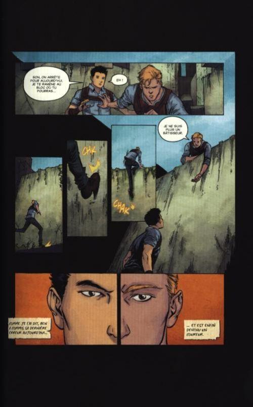 Le Labyrinthe : La Terre Brûlée (0), comics chez Panini Comics de Ball, Dashner, Kelly, Nowlin, Lanzing, Derenick, To, Robles, Mutti, Popov, Gonzalez, Cogar