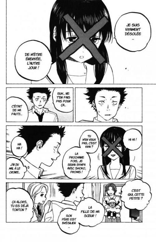 A Silent Voice T5, manga chez Ki-oon de Oima