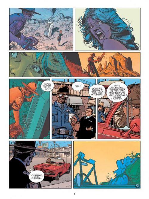 Wonderball T3 : Le shérif (0), bd chez Delcourt de Pécau, Blanchard, Duval, Wilson, Fernandez