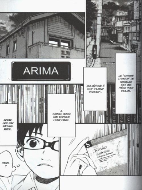 Your lie in april  T6, manga chez Ki-oon de Arakawa
