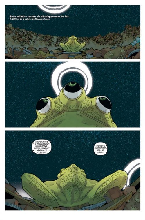 Great Pacific T3 : Chasse au gros (0), comics chez Les Humanoïdes Associés de Harris, Morazzo, Tiza Studio