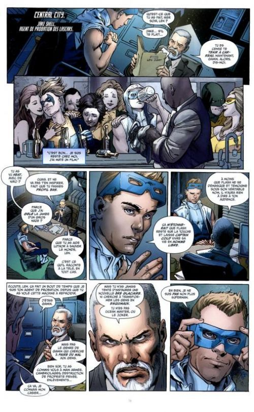 Justice League – New 52, T8 : La Ligue d'Injustice (0), comics chez Urban Comics de Johns, Kindt, Neves, Kolins, Mahnke, Reis, Eddy Barrows, Fabok, Derenick, Miller, Dalhouse, Anderson, Reis