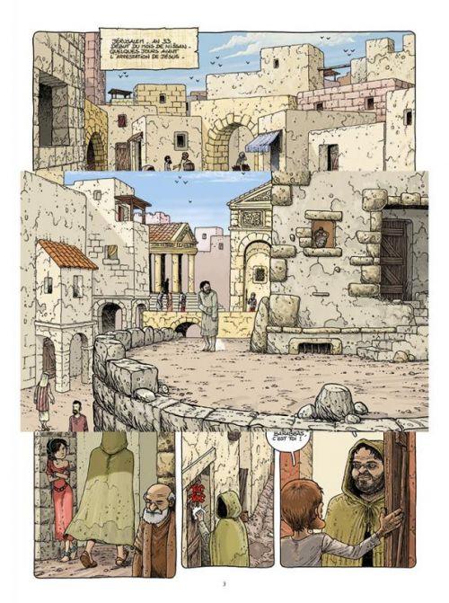 Le voyage des pères – cycle 2 : Epoque 2, T4 : Barabas (0), bd chez Paquet de Ratte, Ratte