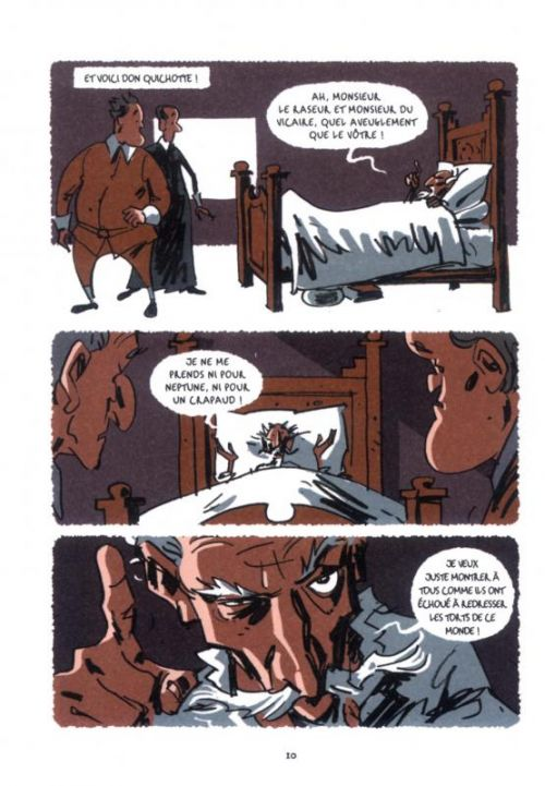 Don Quichotte T2, comics chez Warum de Davis