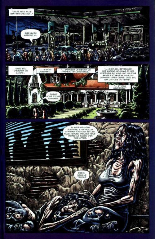 Extinction Parade T2 : Guerre totale (0), comics chez Panini Comics de Brooks, Caceres, Digikore studio