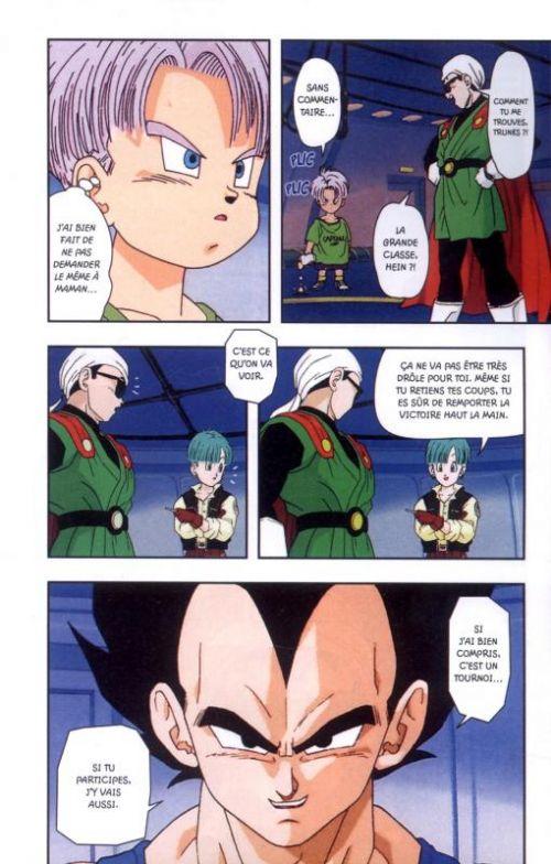 Dragon Ball Z – cycle 6 : Le tournoi de l'Au-delà, T2, manga chez Glénat de Toriyama