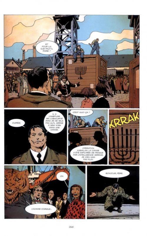 La Brigade Chimérique, comics chez L'Atalante de Colin, Serge Lehman, Gess, Bessonneau