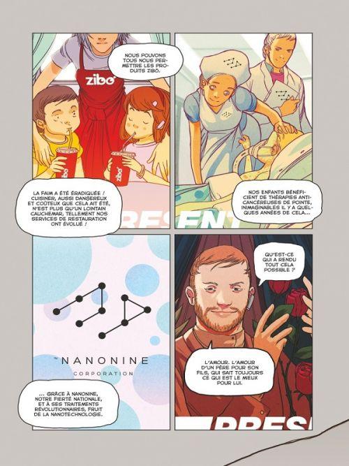 Golem, comics chez Glénat de LRNZ