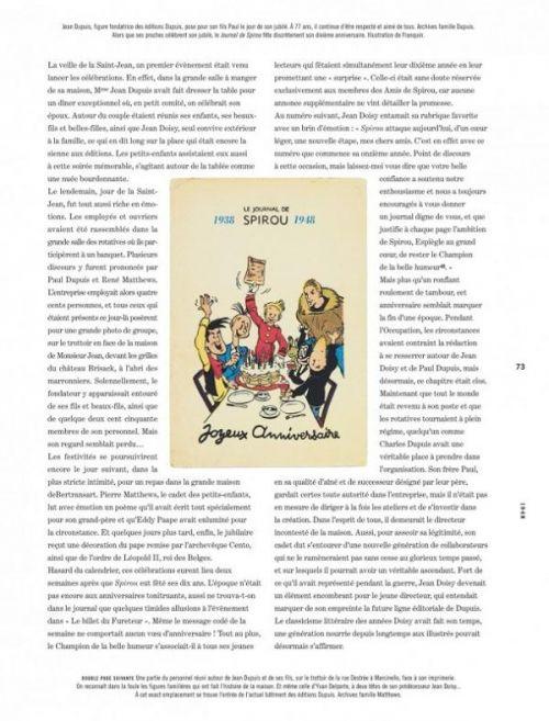 Spirou et Fantasio T2 : La Véritable Histoire de Spirou (1947-1955) (0), bd chez Dupuis de Pissavy-Yvernault, Pissavy-Yvernault, Jijé, Franquin