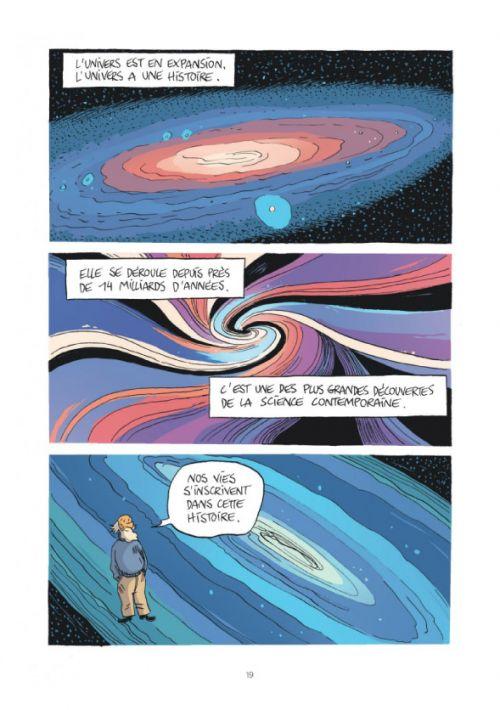 La Petite bédéthèque des savoirs T2 : L'univers (0), bd chez Le Lombard de Reeves, Casanave