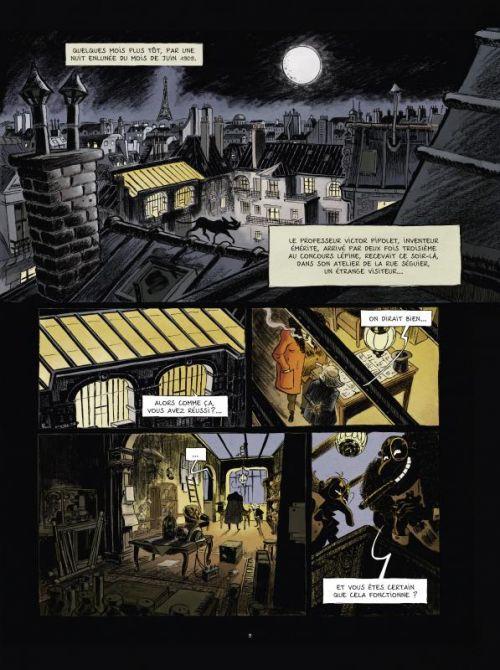 Les Spectaculaires T1 : Le cabaret des ombres (0), bd chez Rue de Sèvres de Hautière, Poitevin