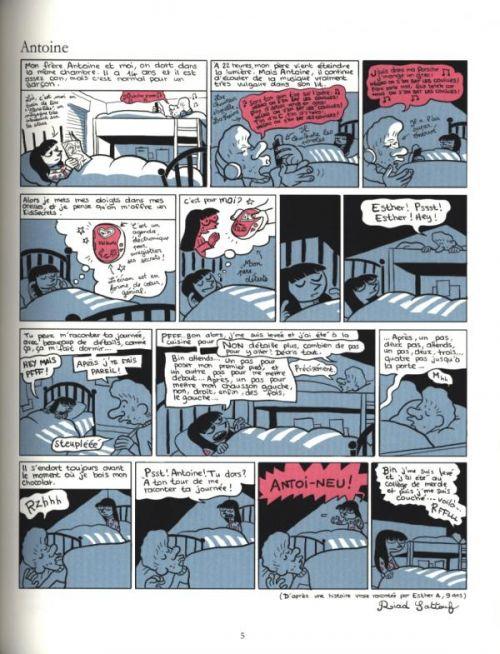 Les Cahiers d'Esther T1 : Histoire de mes 10 ans (0), bd chez Allary éditions de Sattouf