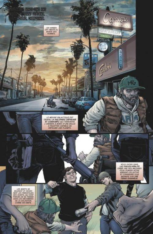 Evil Empire T1 : Nous, le peuple ! (0), comics chez Glénat de Bemis, Mutti, Getty, Blythe, Shaw