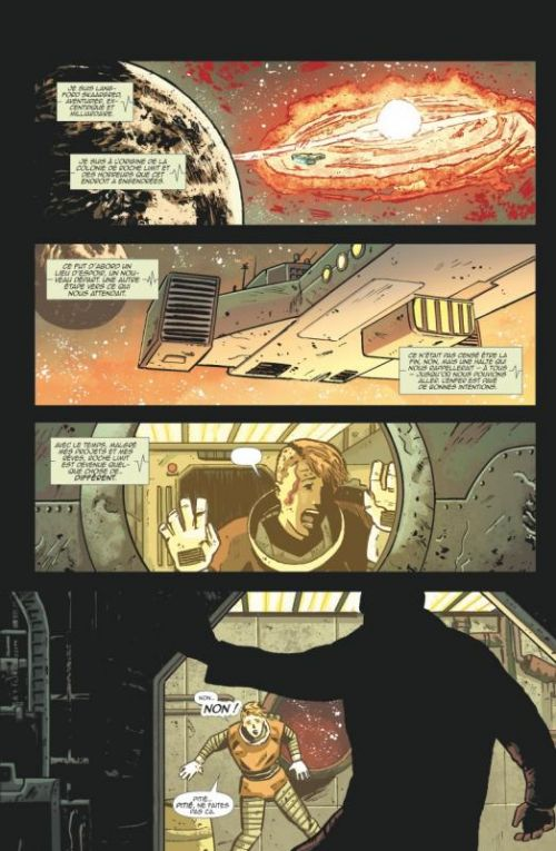 Roche Limit T1 : Irrégularité (0), comics chez Glénat de Moreci, Malhotra, Affe, Boyd
