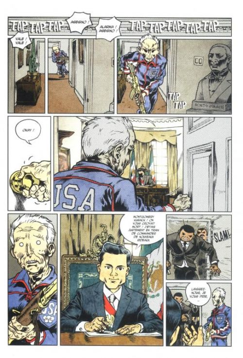Doggybags T9 : Death of a nation (0), comics chez Ankama de Run, Hasteda, Ducoudray, Auger, Jedebaï, Fabry