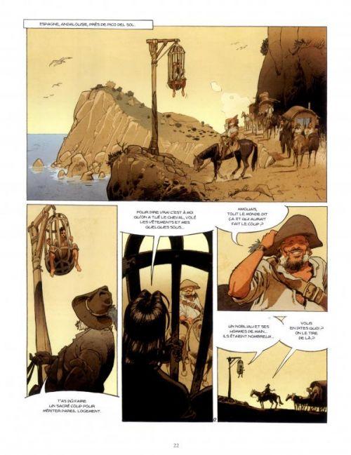La Lame et la croix T1 : La lignée von Kreuz (0), bd chez Mosquito de Casini