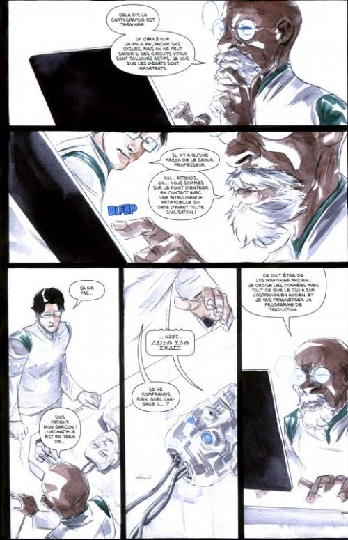 Descender T1 : Etoiles de Métal (0), comics chez Urban Comics de Lemire, Nguyen