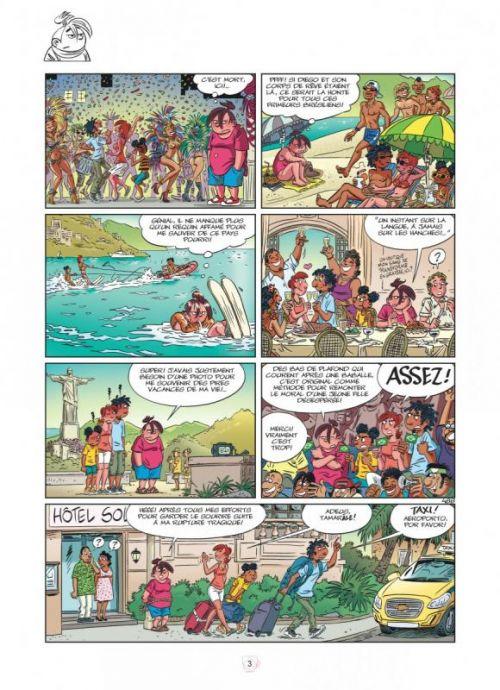 Tamara T14 : Amies pour la vie ! (0), bd chez Dupuis de Zidrou, Darasse, Bosse, Darasse, BenBK