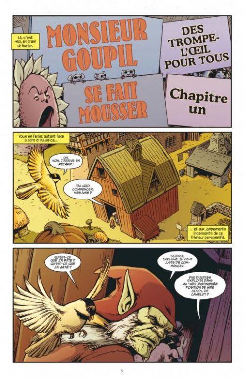 Fairest T5 : Des trompe-l'œil pour tous (0), comics chez Urban Comics de Willingham, Buckingham, Braun, Hetrick, Dalhouse, Major, Loughridge, Hughes