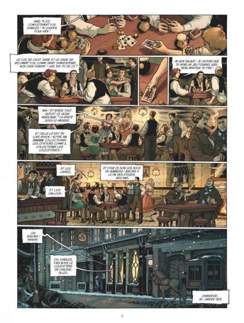 Darwin T1 : À bord du Beagle (0), bd chez Glénat de Clot, Bono, Fogolin
