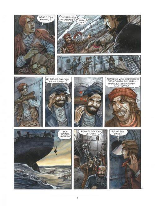 Ennemis de sang T2 : Le Roi de Huka-Huka (0), bd chez Glénat de Carin, Caryn