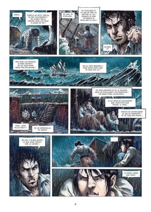 Les Aventuriers de la mer T3 : Or ou Sang (0), bd chez Soleil de Melanÿn, Dimat, Schelle