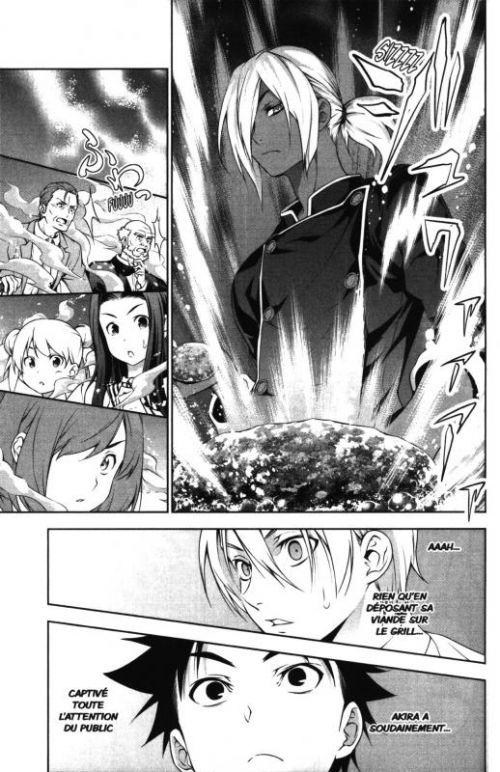 Food wars  T9, manga chez Tonkam de Tsukuda, Saeki