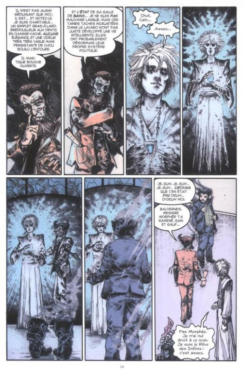 Sandman T7, comics chez Urban Comics de Gaiman, Vess, Amano, Fabry, McKean, Russell, Manara, Zulli, Sienkiewicz, Talbot, Storey, Prado, Muth, Quitely, Kindzierski, Chuckry, Vozzo