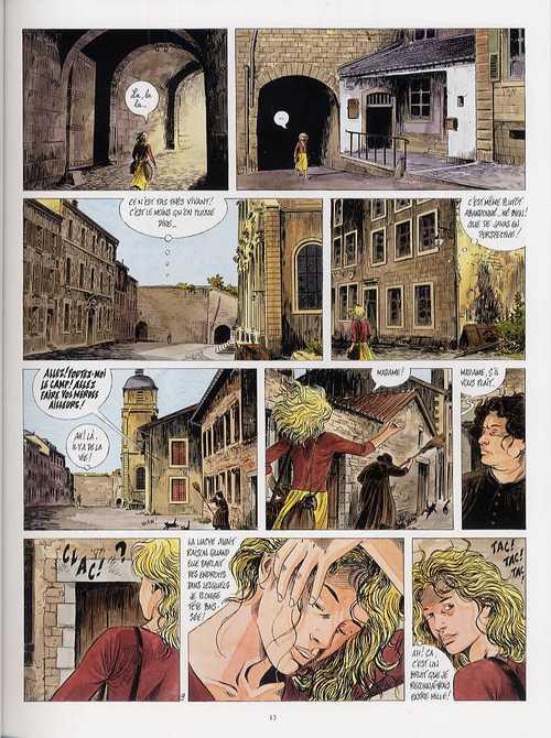 Tendre Violette T6 : Les enfants de la citadelle (0), bd chez Casterman de Servais, Raives