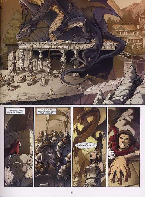 Dragonseed T2 : L'étreinte du griffon (0), bd chez Les Humanoïdes Associés de McClung, Guerrero, Jimenez