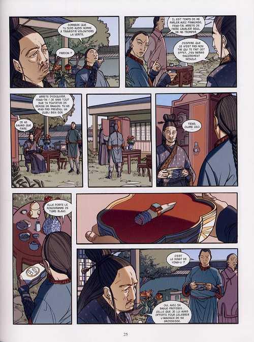 Oeil de Jade T2 : L'étreinte du tigre (0), bd chez Les Humanoïdes Associés de Weber, Tenderini