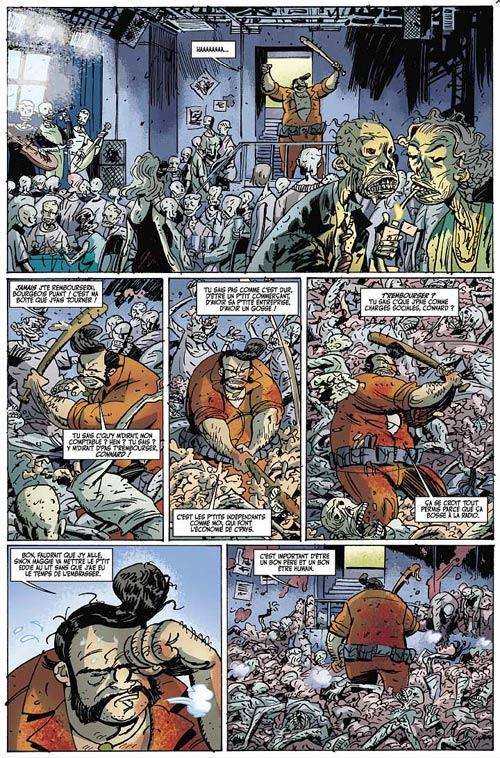 Les zombies qui ont mangé le monde T4 : La guerre des papes (0), bd chez Les Humanoïdes Associés de Frissen, Davis, Kirchoff