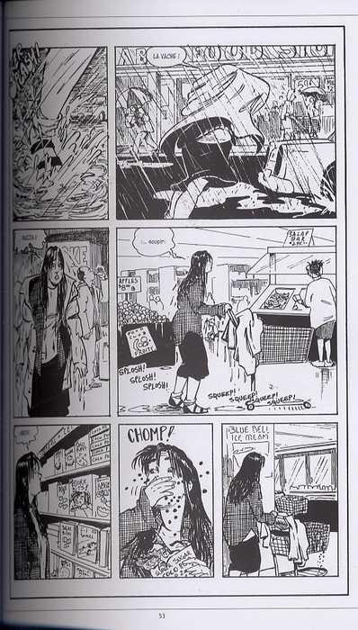 Strangers in paradise – cycle , T2 : Les échos du passé (0), comics chez Kyméra de Moore