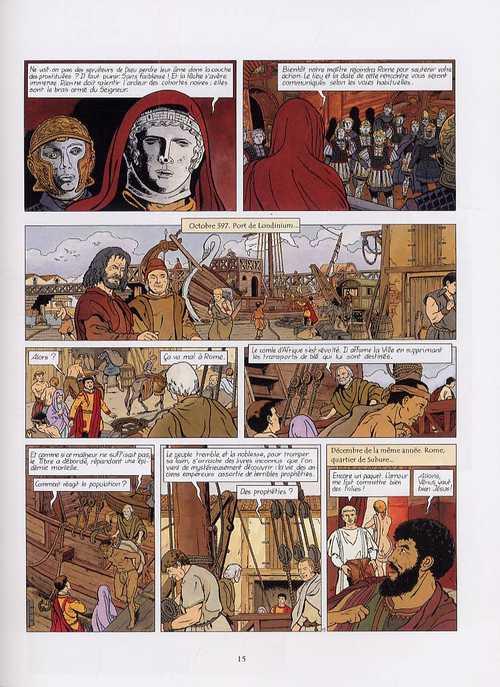 La dernière prophétie T4 : Le livre interdit (0), bd chez Glénat de Chaillet, Defachelle