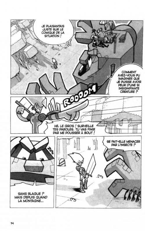 Dofus – Edition double, T2 : Chacun cherche son Eca / Chétif fais-moi peur ! (0), manga chez Ankama de Tot, Crounchann, Ancestral z