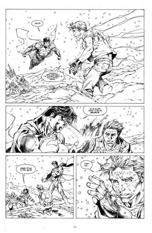 Superman Unchained : Black and white (0), comics chez Urban Comics de Snyder, Lee, Nguyen