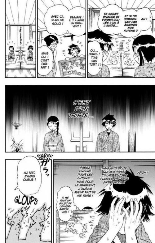 Nisekoi T17, manga chez Kazé manga de Komi