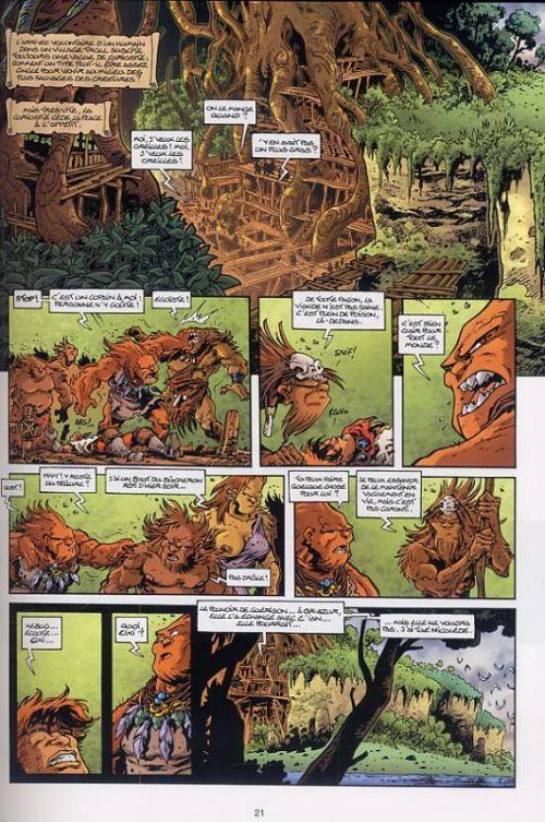 Lanfeust et les mondes de Troy T19 : Lanfeust Odyssey - Le Banni d'Eckmül (0), bd chez Hachette de Arleston, Tarquin, Lyse