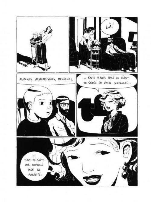Regarde les filles, bd chez Vraoum! de Bertin