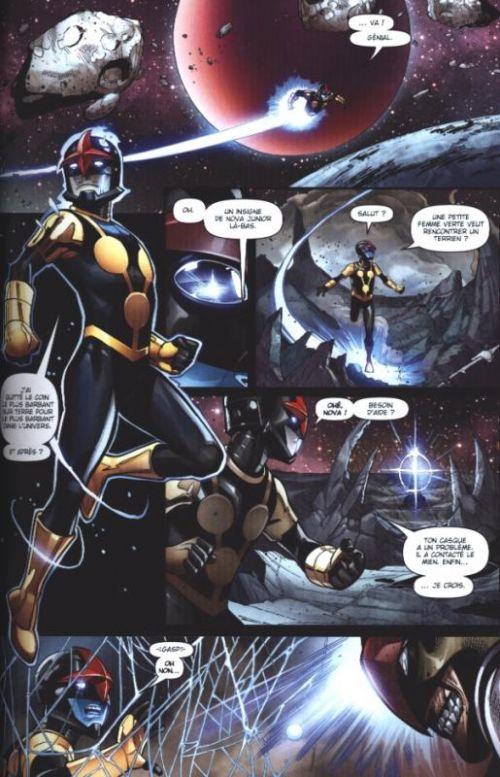 Nova (2013) T3 : La route vers nulle part (0), comics chez Panini Comics de Duggan, Baldeon, Medina, Stewart, Sotomayor, Curiel, McGuinness