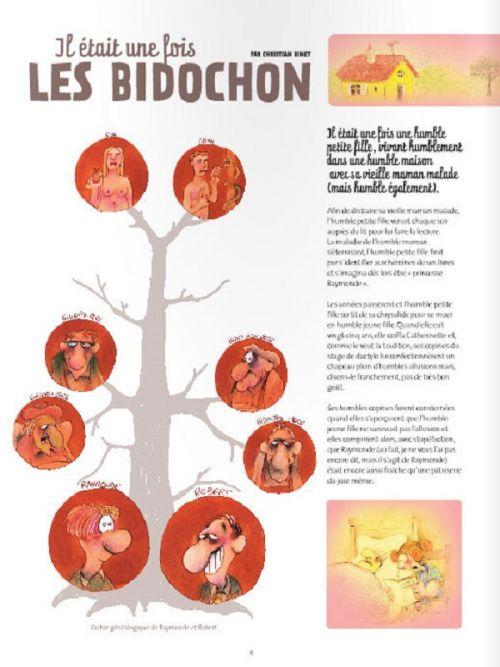 Les bidochon : Il était une fois les Bidochon (0), bd chez Fluide Glacial de Binet