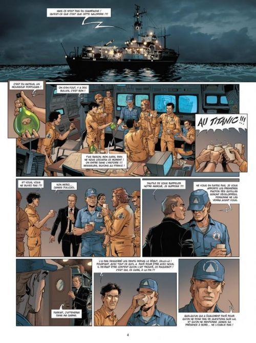 Complot T4 : Le Naufrage du Titanic (0), bd chez Delcourt de Alcante, Gihef, Koller, Fogolin, Sentenac