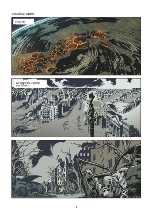 Orphelins T4 : War Pigs (0), comics chez Glénat de Recchioni, Gianfelice, Santucci, Bignamini, Bertelé, Niro, Simeone, Carnevale
