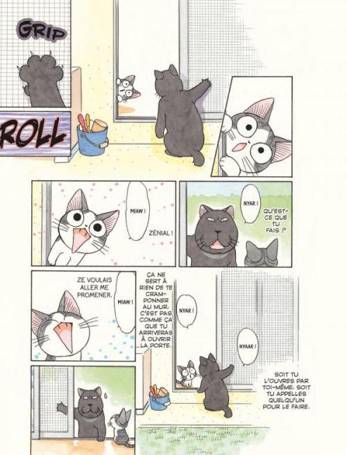 Chi - une vie de chat (format BD) T5, bd chez Glénat de Konami